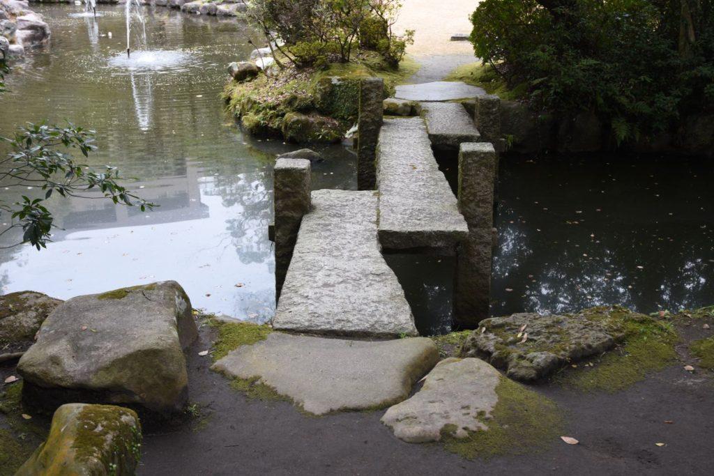 探勝園(鹿児島市照国町)の三橋