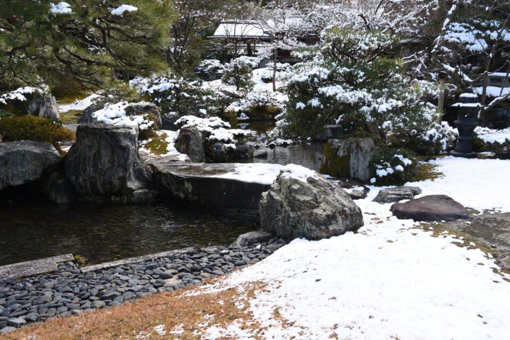 橋挟み石京都御所